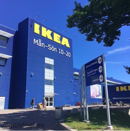 スウェーデンのIKEA