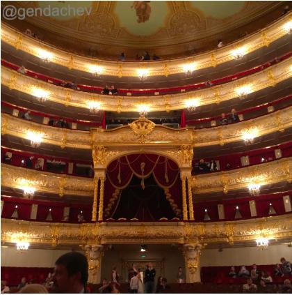 ボリショイ劇場内部