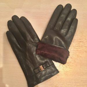 ロシアの冬のは手袋も必須