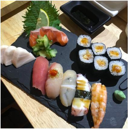 チェコプラハの寿司