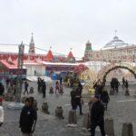 お正月の赤の広場