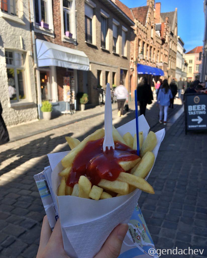 ベルギー 食べ物