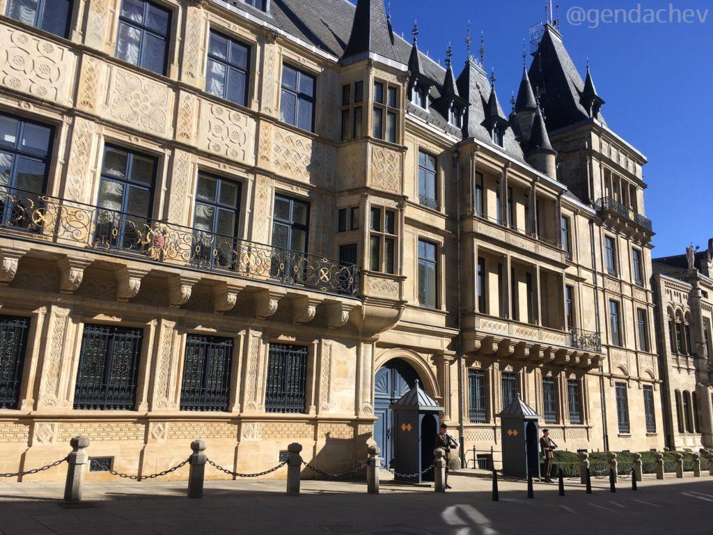 ルクセンブルグ 大公宮