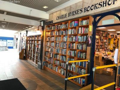 ゴールウェイの本屋 チャーリーバーンズ