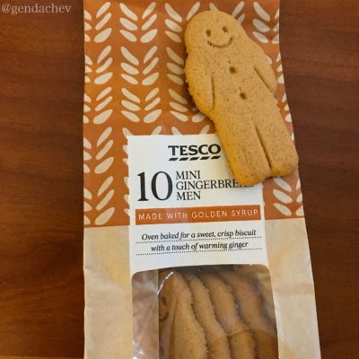 TESCOのクッキー