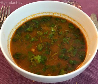 ウズベキスタン スープ