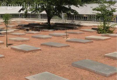 タシケント 日本人墓地