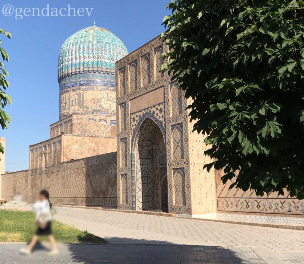 サマルカンド ビビハニム・モスク