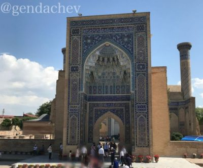 ウズベキスタン サマルカンド グル・アミール廟