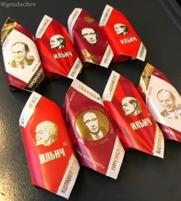 ロシア チョコレート