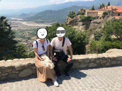 ギリシャ メテオラ 修道院