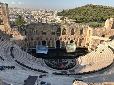 アテネ ディオニソス劇場