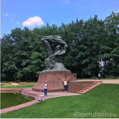 ポーランド ワジェンキ公園